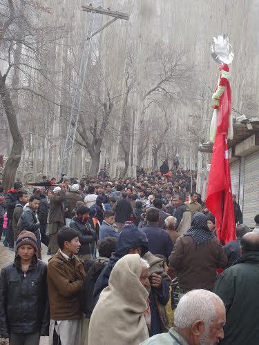 Procession in Shigar.