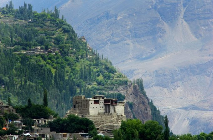 The Baltit Fort is a contender for the World Heritage Sites