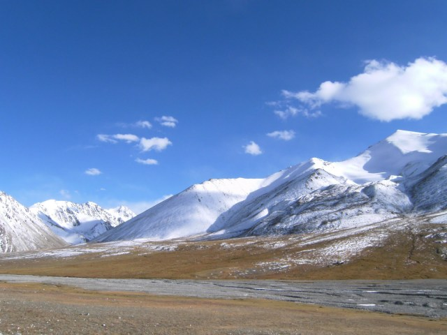 The Khunjerab Top, as it is famously known, is a plateau-like land