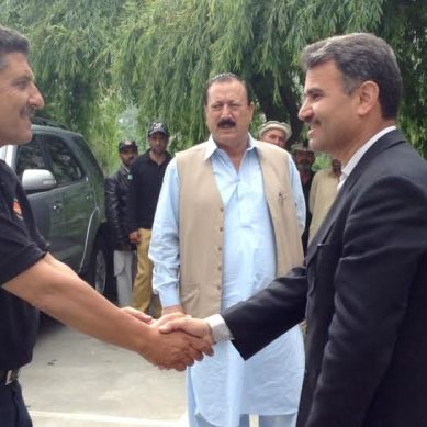 Chitrali delegation visits Hunza