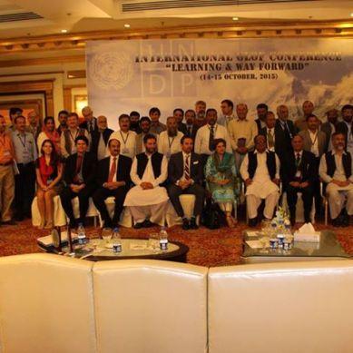 International Conference on GLOFs held