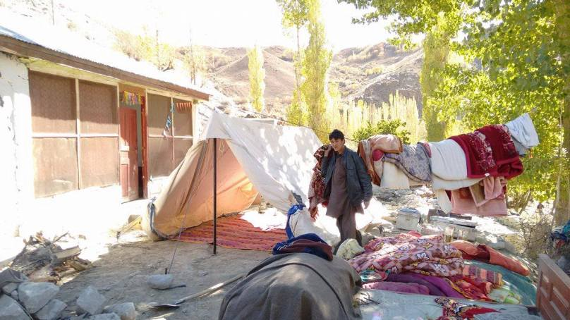 Earthquake Aftermath: 428 houses completely destroyed, 2787 damaged, in Gilgit-Baltistan