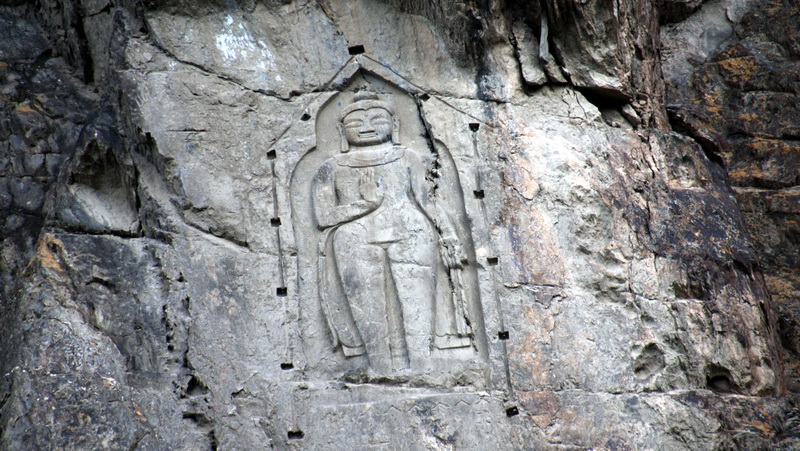 The Kargah Buddha located in Gilgit