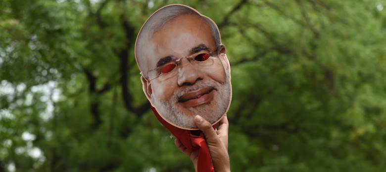 Modi; the face of Hindutva extremism