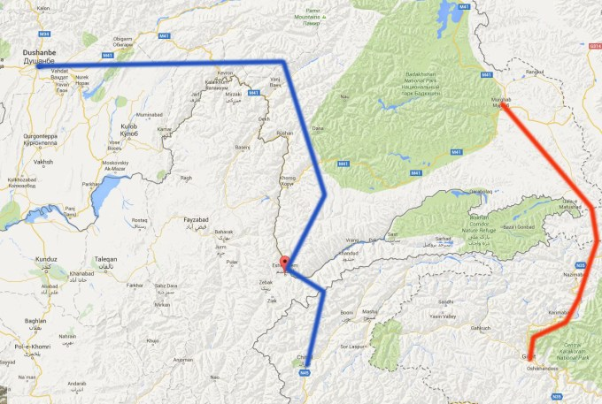 Two o the three routes agreed between the two leaders will pass through Gilgit-Baltistan and Chitral