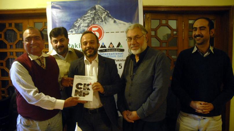 {Book Launch] CKNP Natural Environment and Cultural Heritage in the land of K2