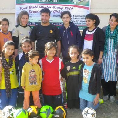 Two days football camp arranged for girls