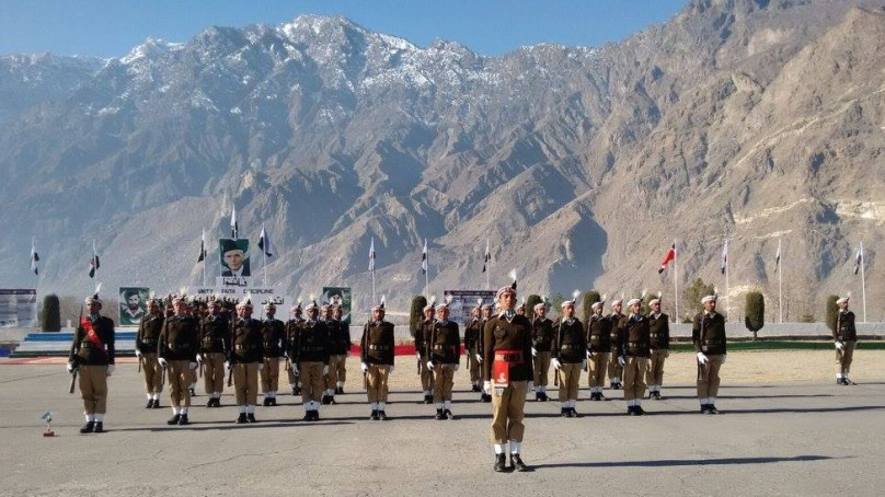 Passing Out Parade of NLI's rew recruits held