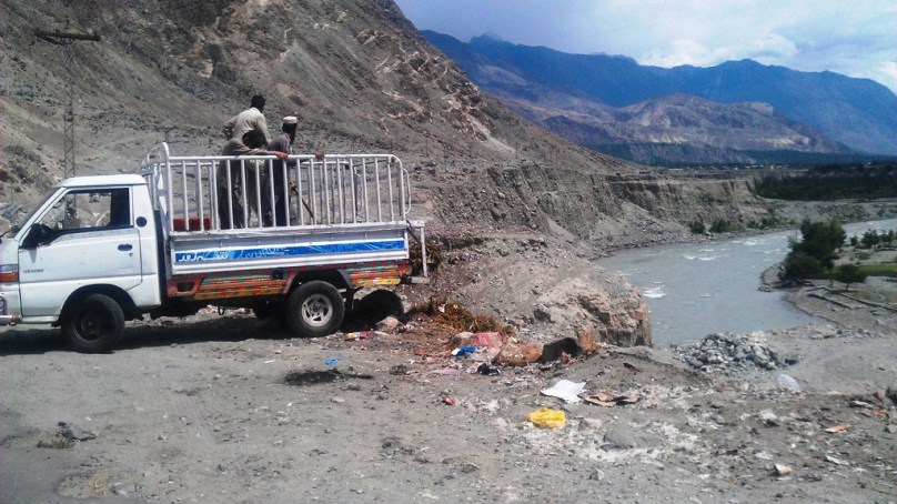 Solid wastes in Gilgit-Baltistan
