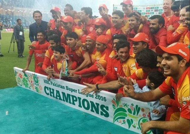 Islamabad united wins first Pakistan Super League Cricket Tournament