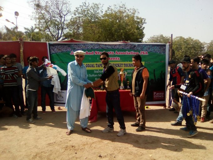 Shirts and mementos were given to supporters of the tournament
