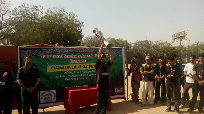 Karachi: Team Babaghundi wins All Gojal Cricket Tournament