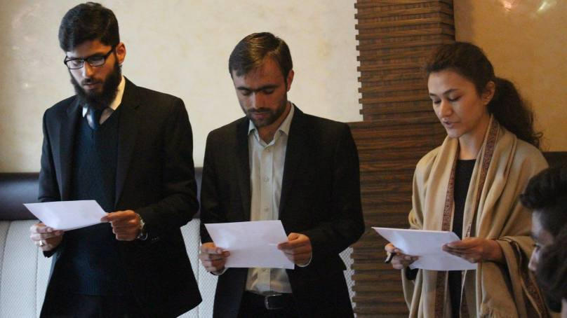 New President and VP of Organization for Educational Change (OEC) sworn in