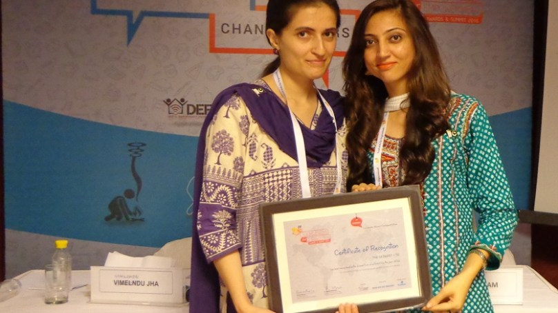 Two girls from Chitral win prestigious award in India