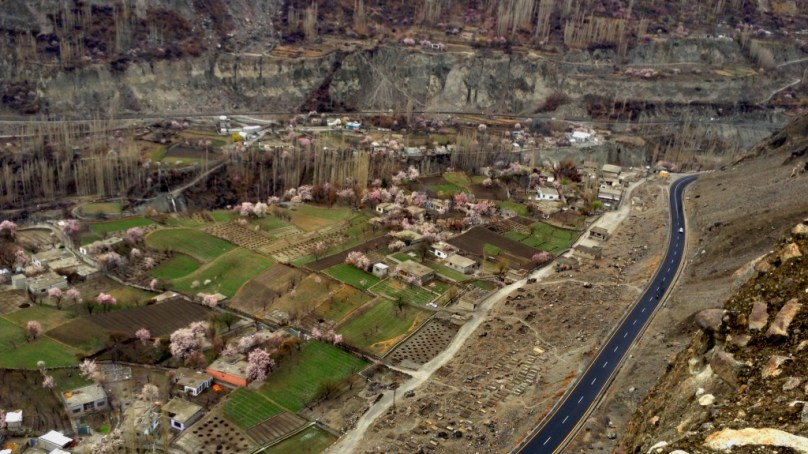 8 stunning photographs of spring blossom in Hunza and Nagar