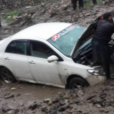 Karakoram Highway remains blocked after incessant rainfall