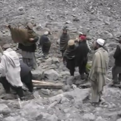 Village in Kohistan declared mass grave of 23 people buried by landslide