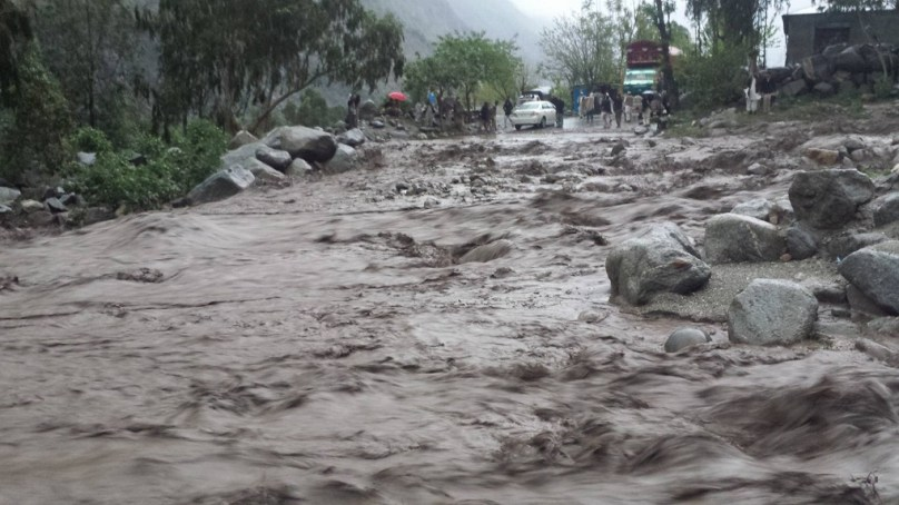 Climate change brings severe risks to northern Pakistan