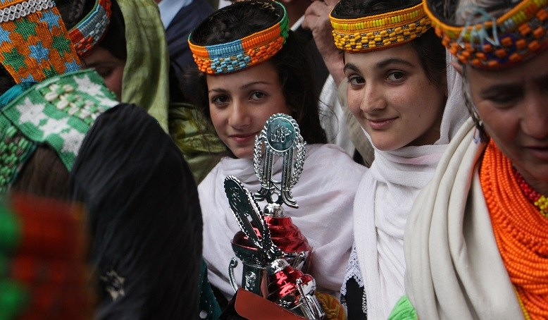 Youth of Kalash Valley engage in essay writing, drawing, speech and singing competitions