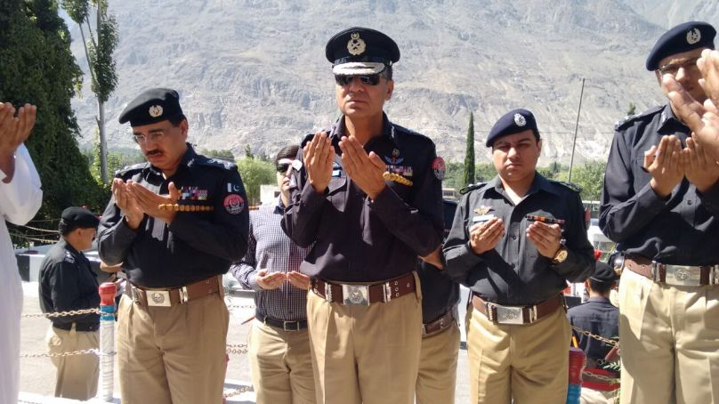 Police Shuhada Day (Police Martyrs' Day) observed in Gilgit-Baltistan