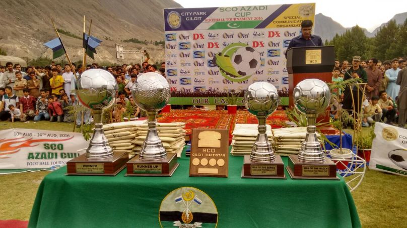 Gilgit: SCO Azadi Cup Football Tournament Concluded