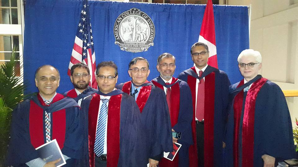 Dr. Rehman with other fellowship recipients