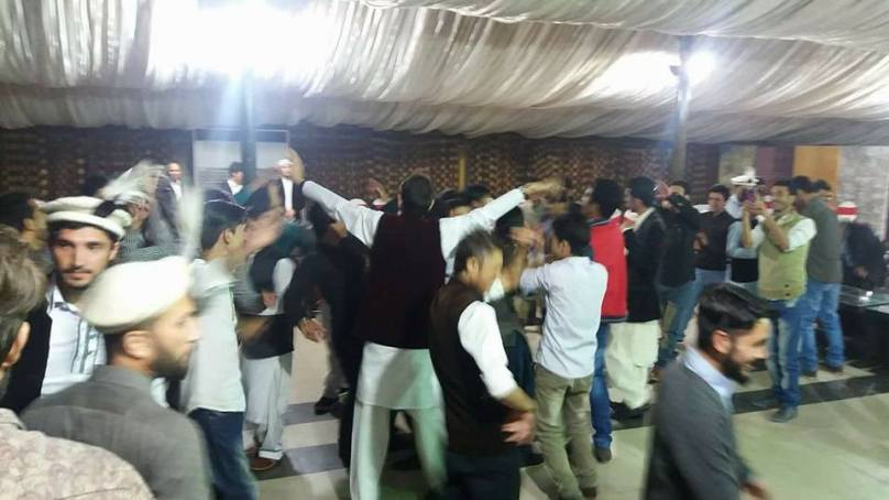 Sargodha University students from Gilgit-Baltistan welcome newcomers with a cultural bash