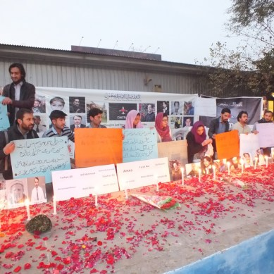 Candle light vigil held to remember Pk661 victims, speedy delivery of DNA results demanded