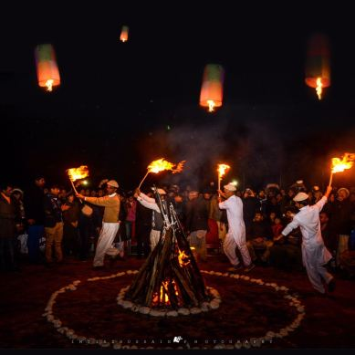 Light & Fire: Centuries old Mayfang Festival being celebrated in Baltistan