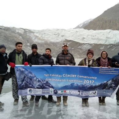 Glaciers Safety Awareness: Mountaineers from Shimshal reach Askoli after 13 days