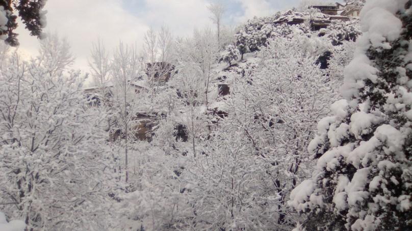 Eight Stunning Photographs of Snowfall at Lawari Top, Chitral