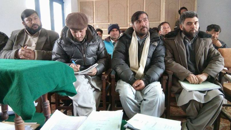 Four day training of population census staff held in Daghoni, Ghanche