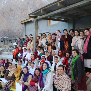 "WWF-Pakistan Trains Hunza Women on ""Climate Smart Mountain Livelihood Options"""