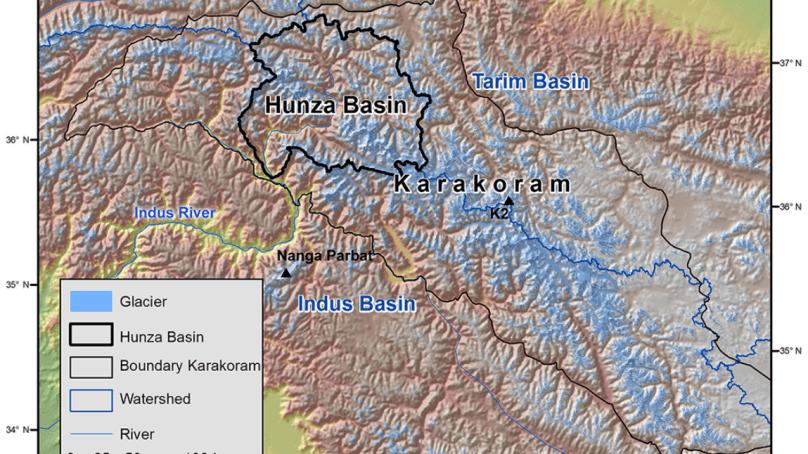 The Karakoram Anomaly: No change in the Karakoram glacier region since the 1970s