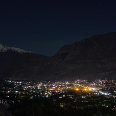 Pictorial – Gilgit city during the night