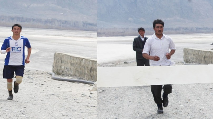 First ever marathon race held in Shigar Valley