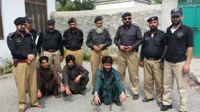 Three absconders arrested for killing a man in the name of honour