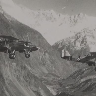 Flying over the Himalayas: RAF Flight to Gilgit in November 1934