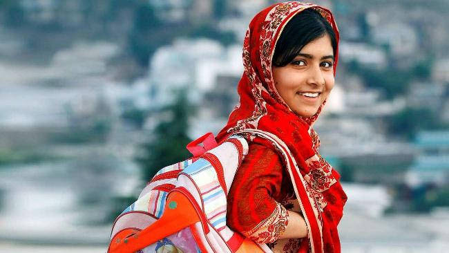 Malala's touching message on her last day at secondary school