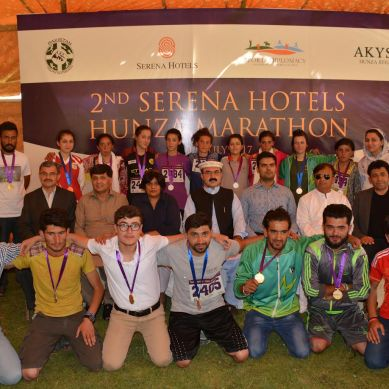 Serena Hotels Hunza Marathon 2017 Draws Hundreds