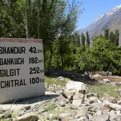 Gilgit – Shandur road being included in CPEC
