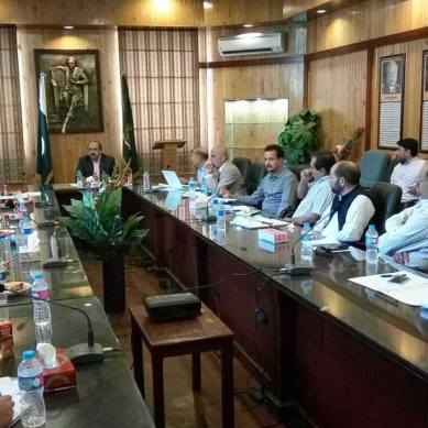 First meeting of CPEC Working Group held in Gilgit