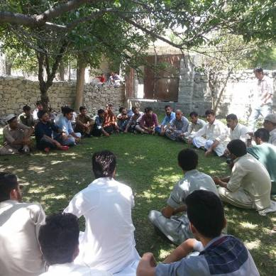Sherqilla Youth forum formed to work for the local youth