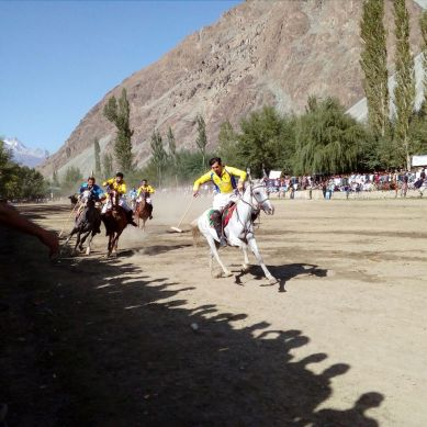 Diamond Jubilee Polo Tournament underway in Yasin valley