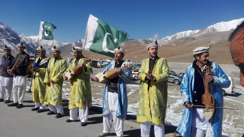 Pakistan Motor Rally starts from Khunjerab Pass