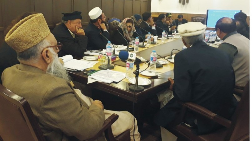 Senate standing committee briefed on Gilgit-Baltistan