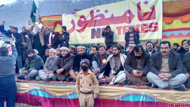 GBshutter down strike continues, traders announced long march towards Gilgit