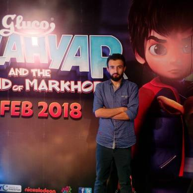 Saeed Soleh, VFX artist from Gilgit-Baltistan, is part of the team behind Pakistan's top animated movie