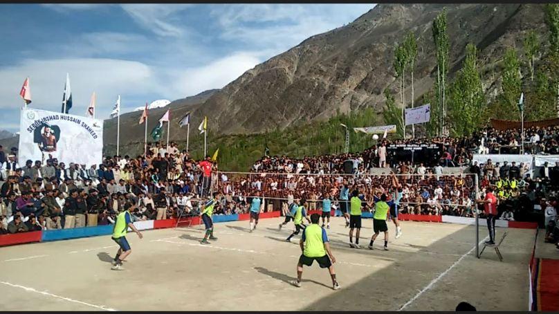 Gilgit-Baltistan Volleyball League underway in Nagar District