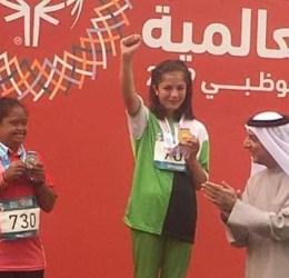 Farzana Rehmat from Hunza, GB, wins two Gold Medals in Abu Dhabi Special Olympics